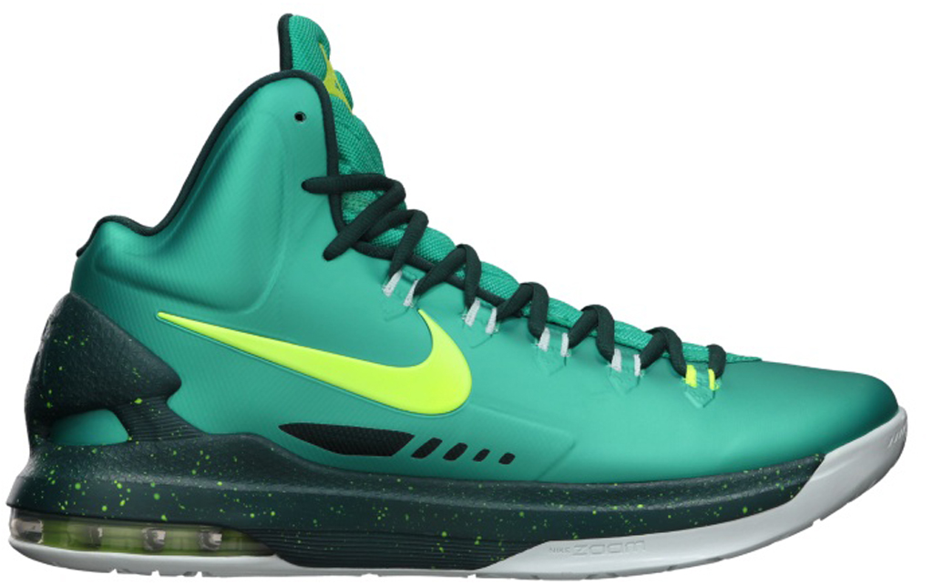 buy online 668c2 21cf4 Nike KD V  Hulk  554988-300 Atomic Teal Volt-Dark Atomic Teal-Fiberglass  03 09 2013