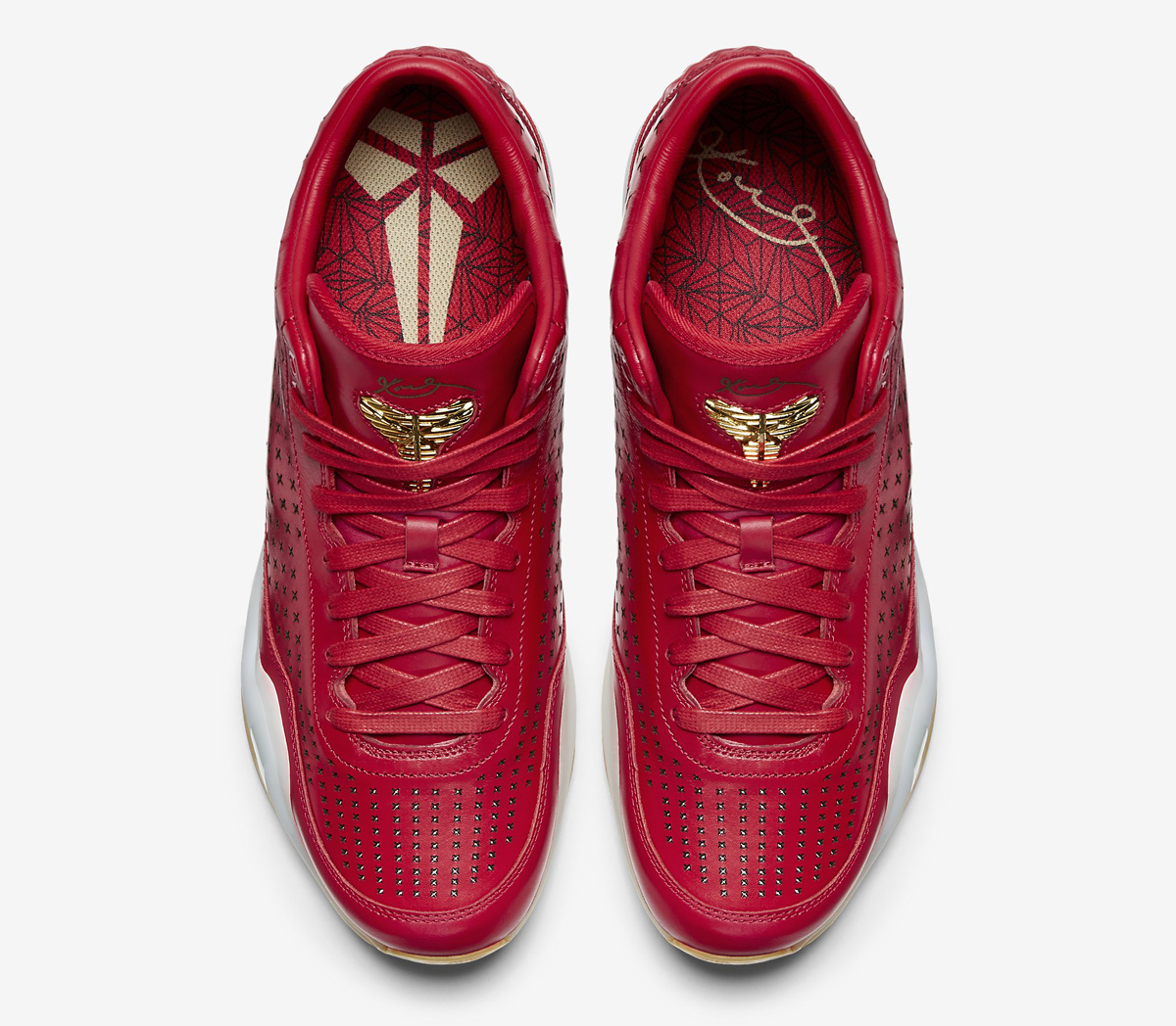 newest 91fbc e2e7a Nike Kobe 10 EXT Mid Color  University Red Metallic Gold Style     802366-600. Price   225