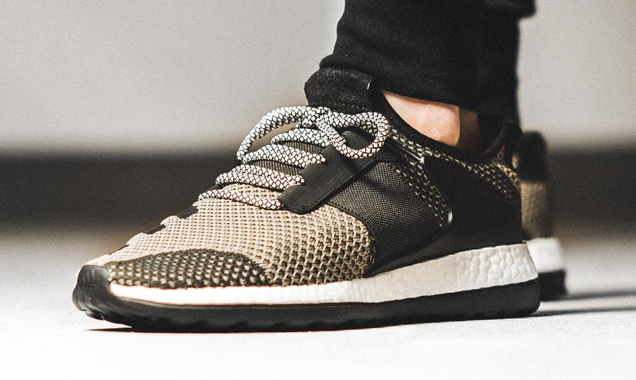 low priced 72e1c 03c55 Adidas Consortium Ado Pure Boost Olive On Feet