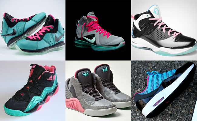 Top 10 Regional Sneaker Colorways: South Beach (2)