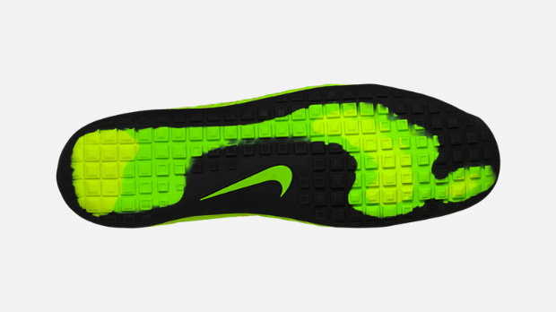 Nike Free Hyperfeel in Volt Black Electric Yellow and Electric Green outsole