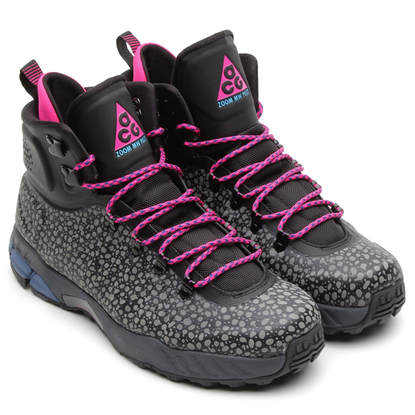 Nike ACG Zoom MW Posite Safari in Black Pink Foil and Gamma Blue