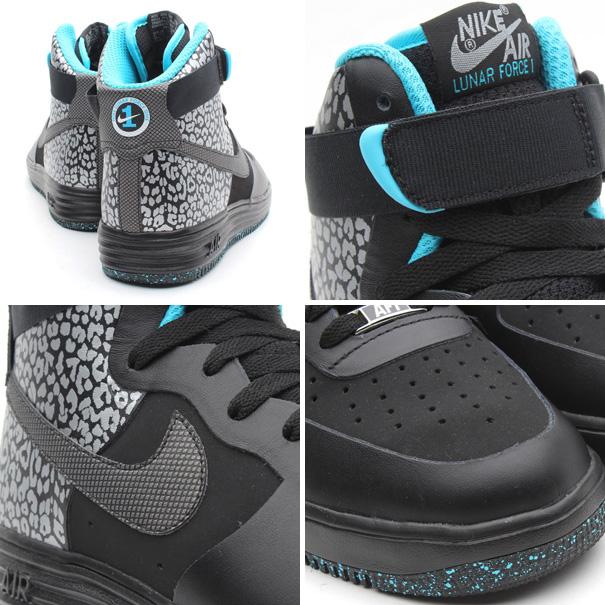 a714a2a36d13 Lunar Nike Shoes Black And Blue Sole 2013