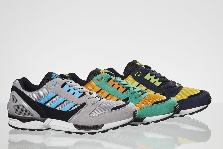 size 40 9d1a0 02d63 adidas Originals ZX 8000 - Spring Colorways | Sole Collector