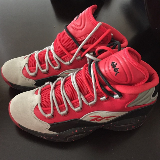 Bun B Picks Up Stash x Reebok Question Red