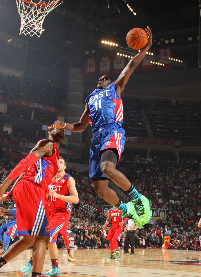 Jrue Holiday wearing adidas Crazy Fast All-Star