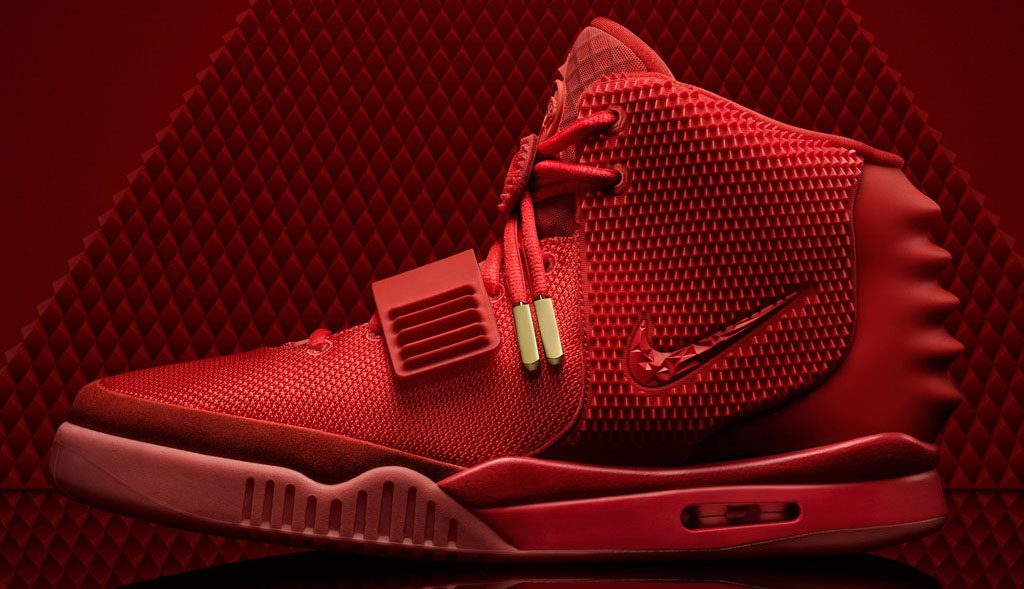Nike Air Yeezy II 2 Red October