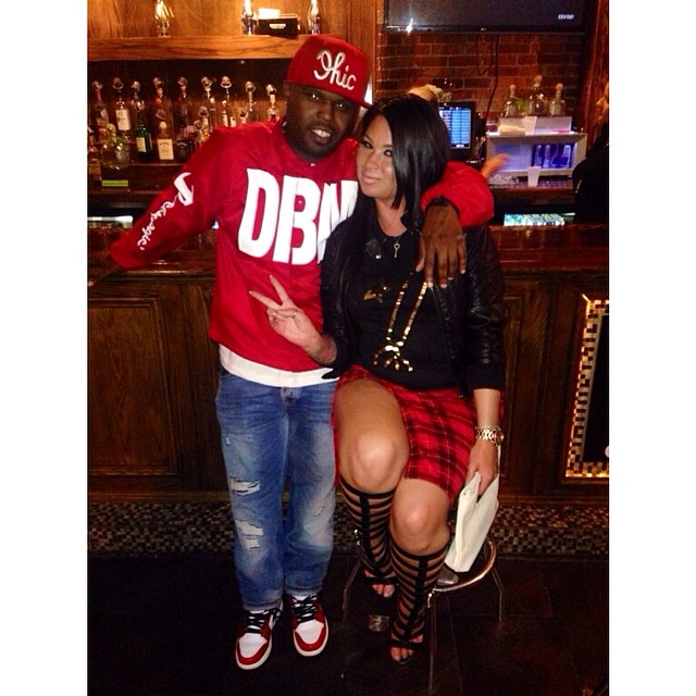 DJ Steph Floss wearing Air Jordan I 1 Bulls