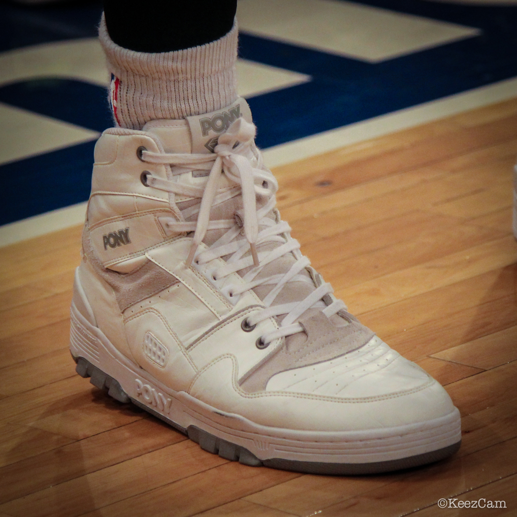 Sole Watch: Up Close At MSG for Knicks vs Nets - Metta World Peace wearing Pony M-100 (1)