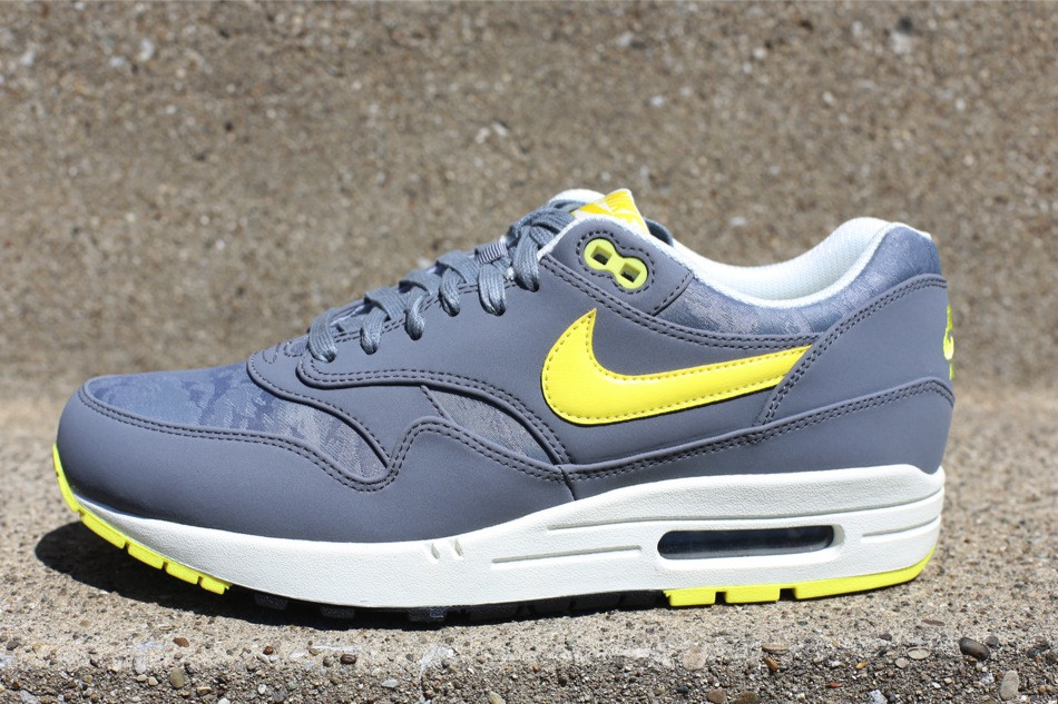 Nike Air Max 1 Yellow Grey