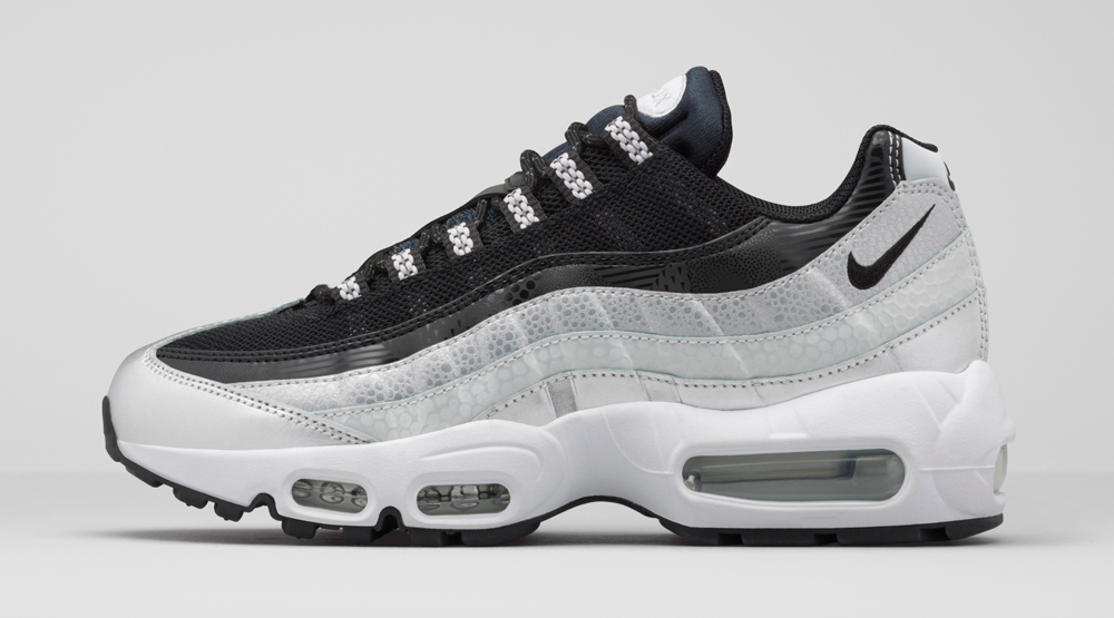 wholesale dealer a56d3 2512e Platinum Air Max 95 Womens