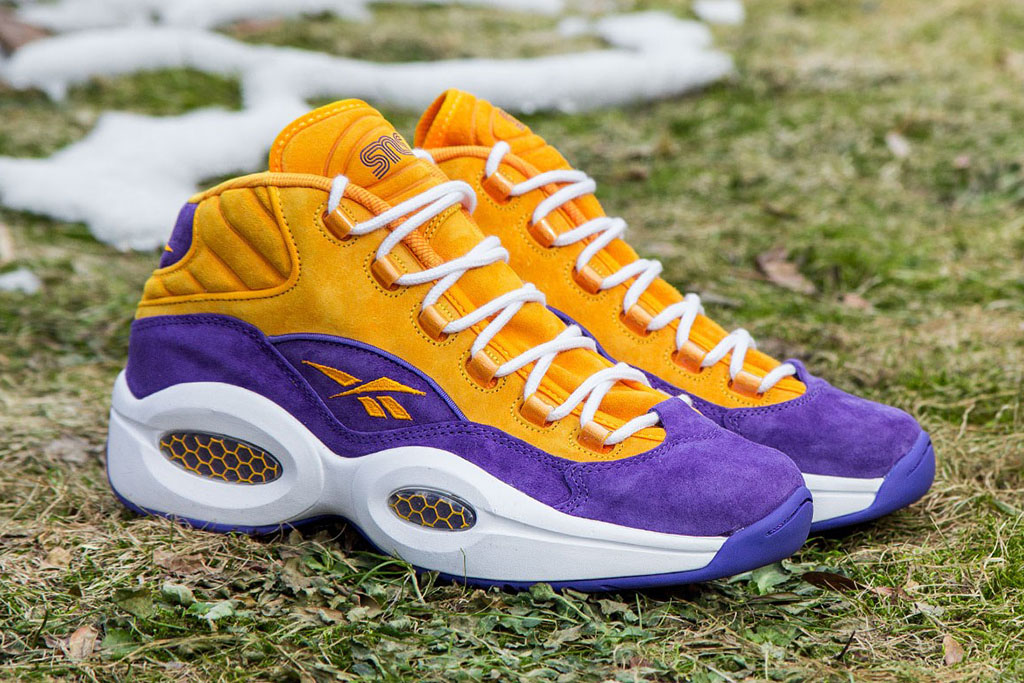 Sneakersnstuff x Reebok Question Crocus