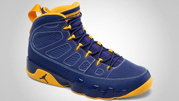 sports shoes 5ef31 f779c 11 10 2012 Air Jordan Retro 9 302370-445 Deep Royal University Gold-White   160.00