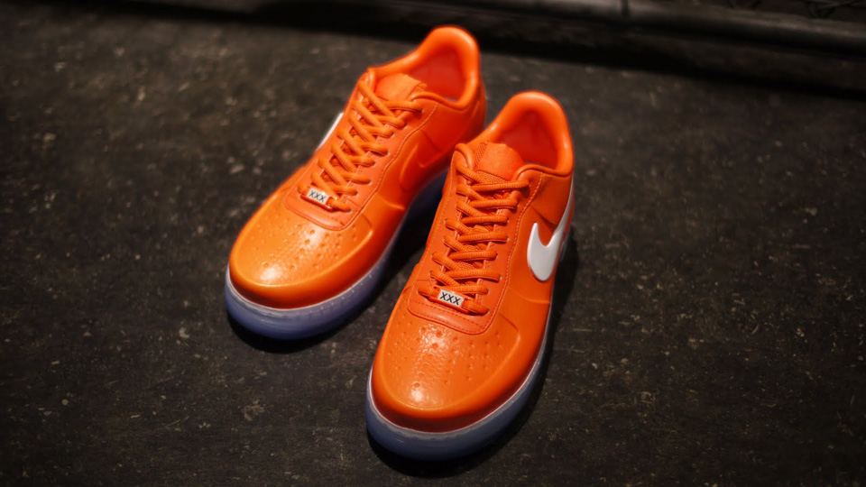 timeless design d6bf8 fd9ff Nike Air Force 1 Foamposite Pro QS - Safety Orange - New Images
