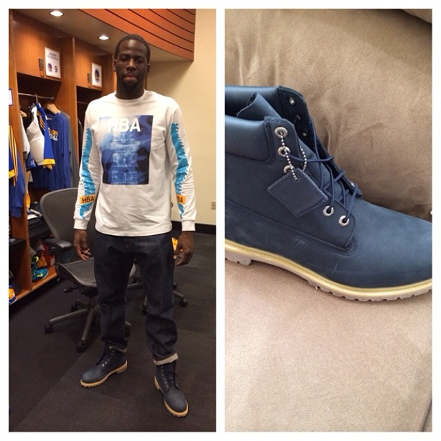 Draymond Green Picks Up VILLA x Timberland VILLA89 Boot