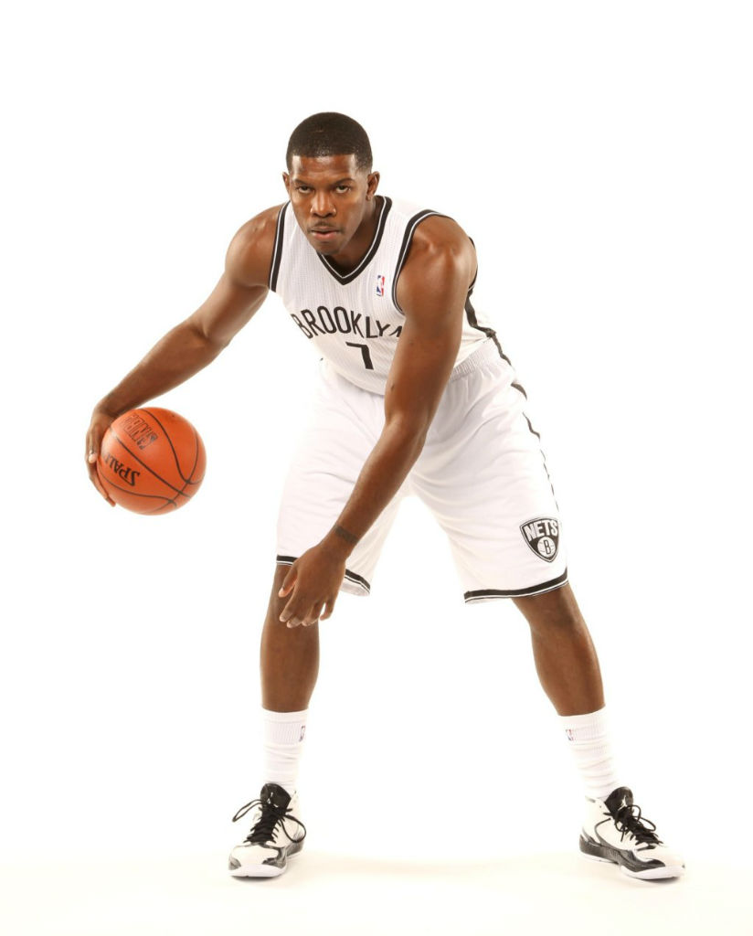Joe Johnson wearing Air Jordan 2012