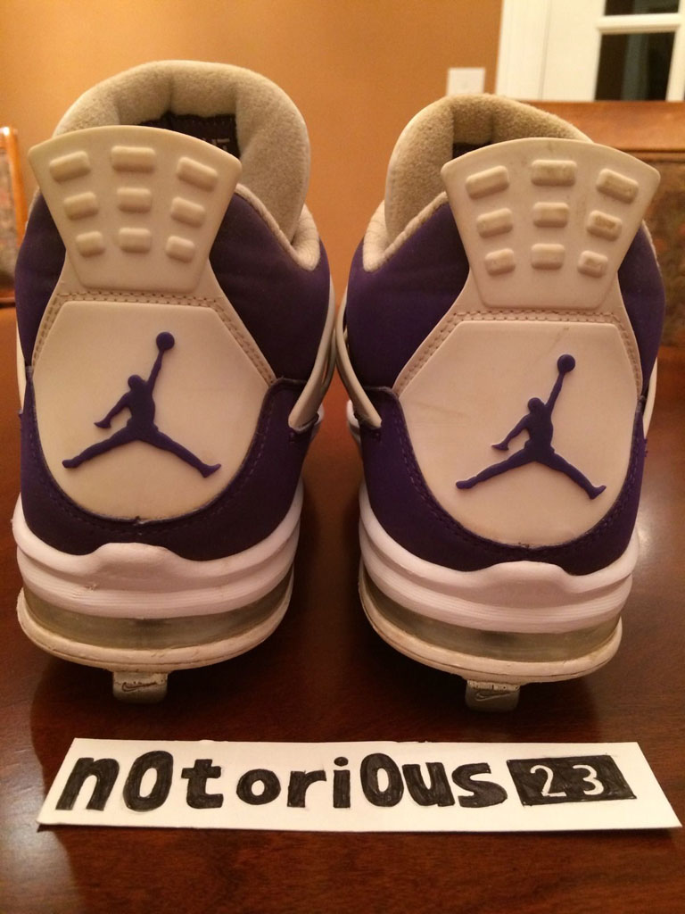 Air Jordan IV 4 Purple Suede Sunset Apollos PE (7)