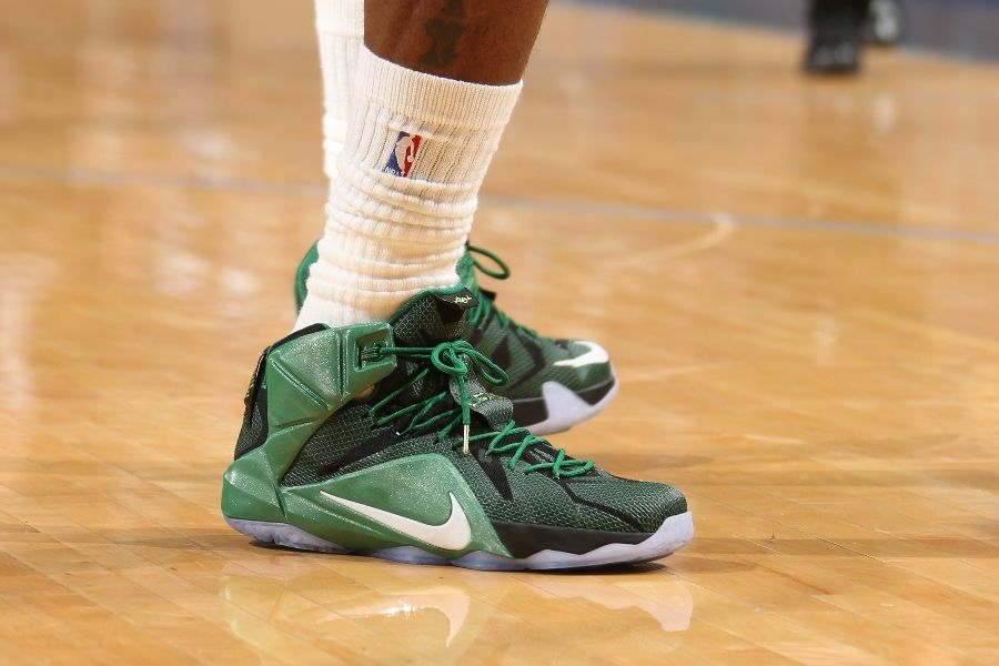 hot sale online 83e8c b9044 SoleWatch: The Nike LeBron 12 is Going Green | Sole Collector
