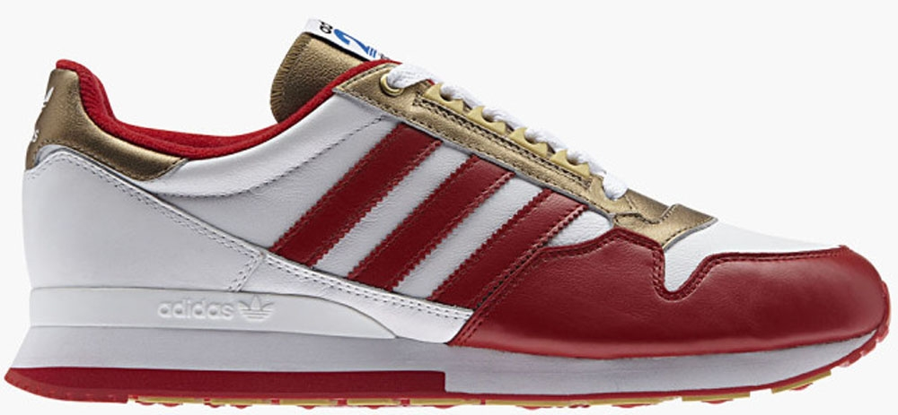 adidas Originals ZX 500 White/Red-Gold