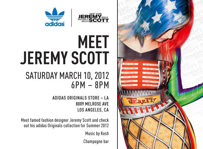 adidas Originals by Jeremy Scott Los Angeles Event