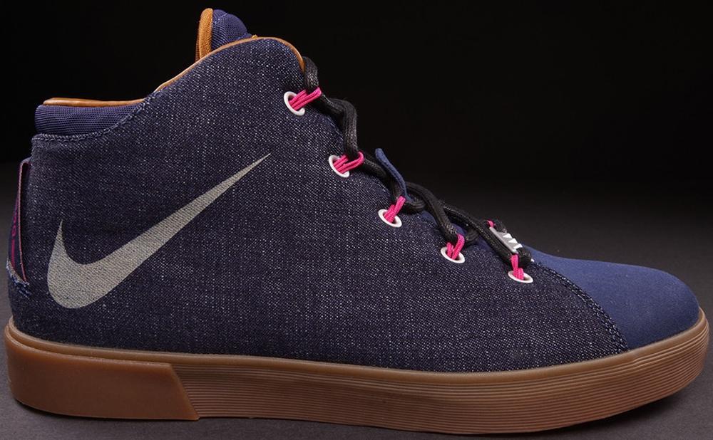 Nike LeBron XII NSW Lifestyle Midnight Navy/Fireberry