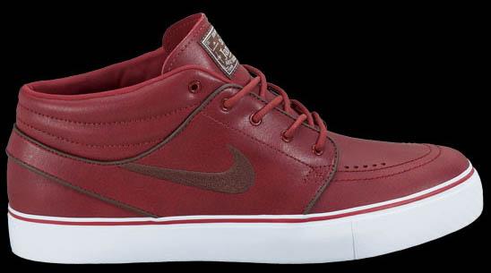 best authentic a1560 71ded Nike Zoom Stefan Janoski Mid Premium Barn Dark Oak White 472679-621