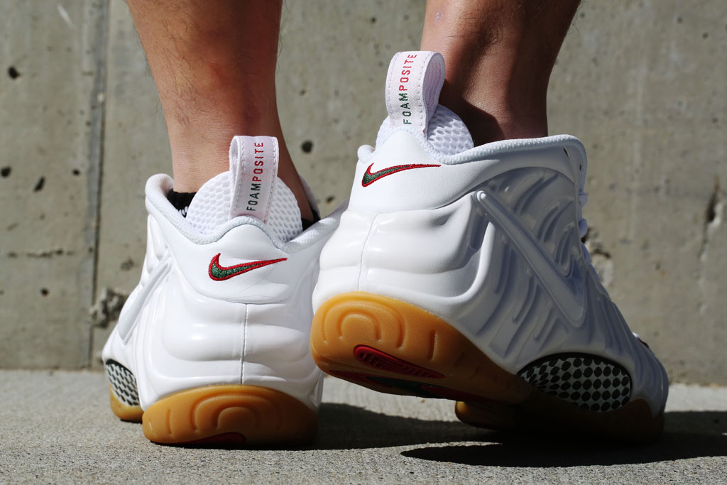 the best attitude cadd7 f8ae1 Here's a Look At the 'Winter White' Nike Air Foamposite Pro ...