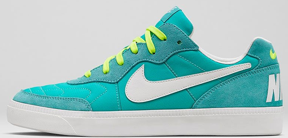 Nike Tiempo Trainer Hyper Turquoise/Ivory