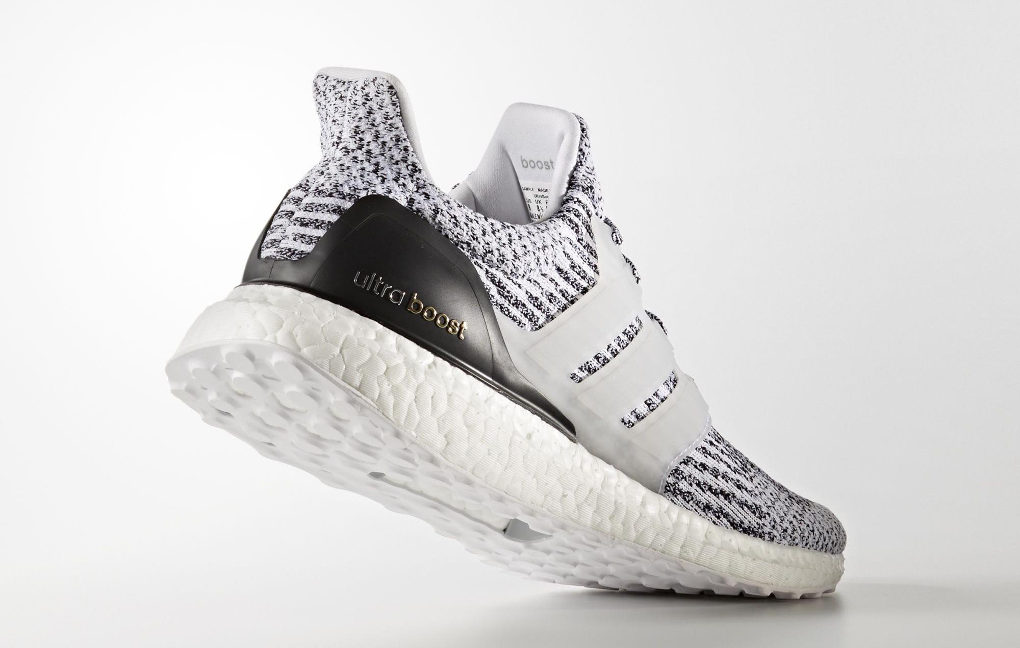 Adidas Ultra Boost 3.0 S80636 Oreo Heel