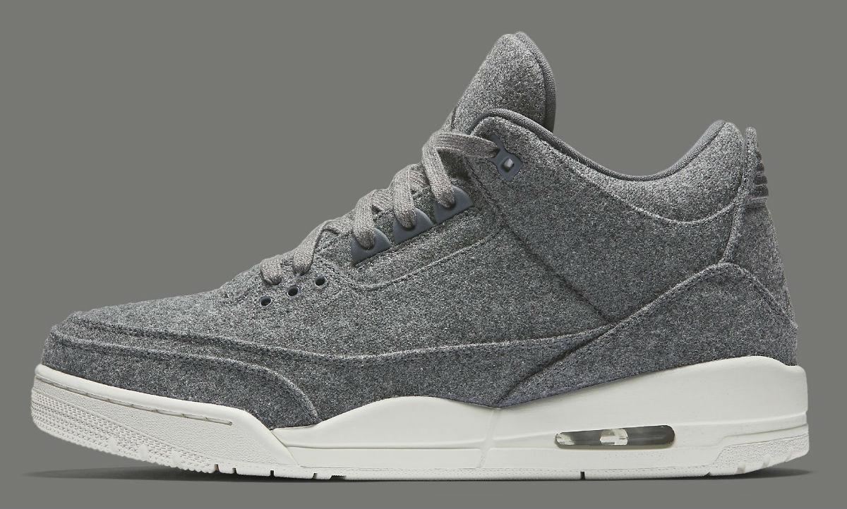 f0a974dae2da69 Air Jordan 3 Wool Release Date Side 854263-004