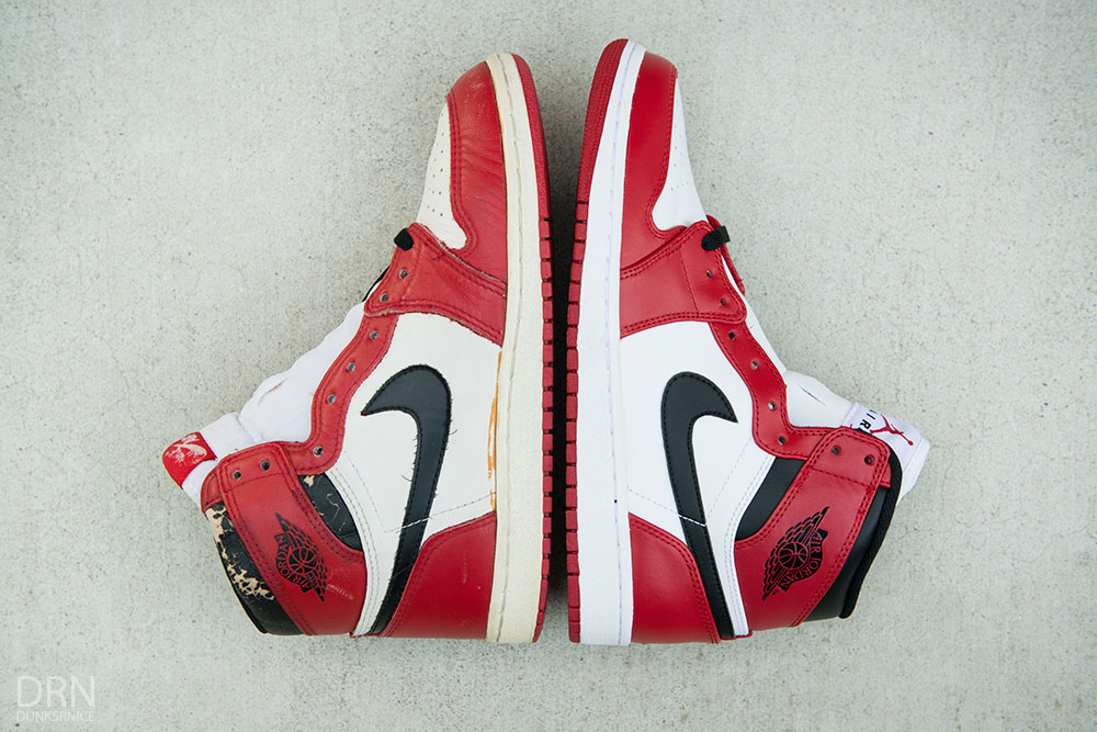 site réputé d9107 fe3a7 Comparing 30 Years of 'Chicago' Air Jordan 1 Releases | Sole ...