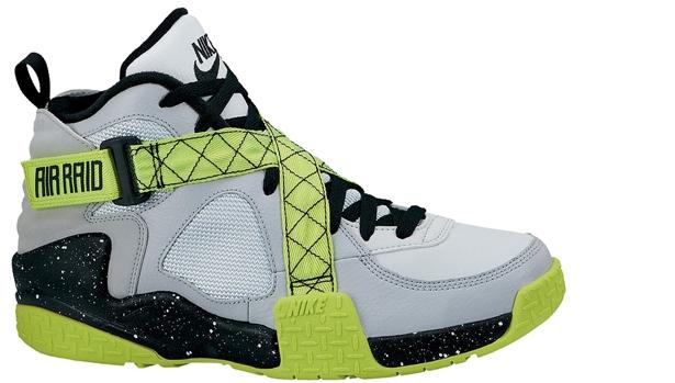 Nike Air Raid Wolf Grey/Pure Platinum-Venom Green