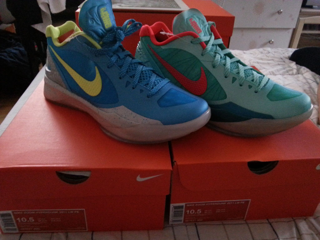 Pickups of the Week // Nike Zoom Hyperdunk Low Son of Dragon Pack by dsun1226