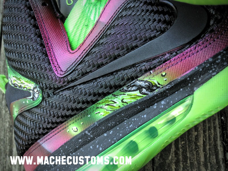 Nike LeBron 9 IX Spawn by Mache Custom Kicks (3)