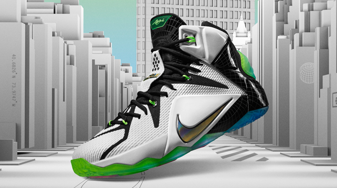 brand new c0f07 7a181 Nike with the official unveil on King James  latest. By. Feb 4, 2015
