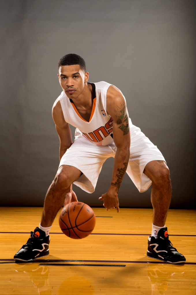 Gerald Green wearing Reebok Pump Omni Lite
