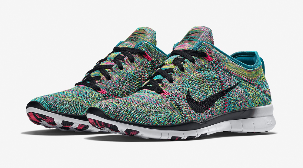 Multicolor Free Flyknit TR 5 Images via Nike