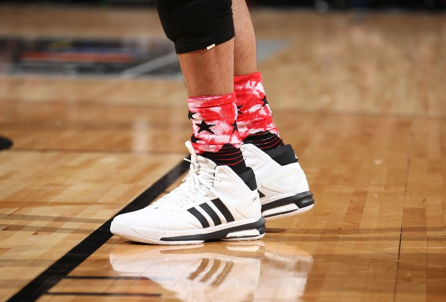 Tim Duncan wearing the 'All-Star' adidas Futurestar Boost (2)