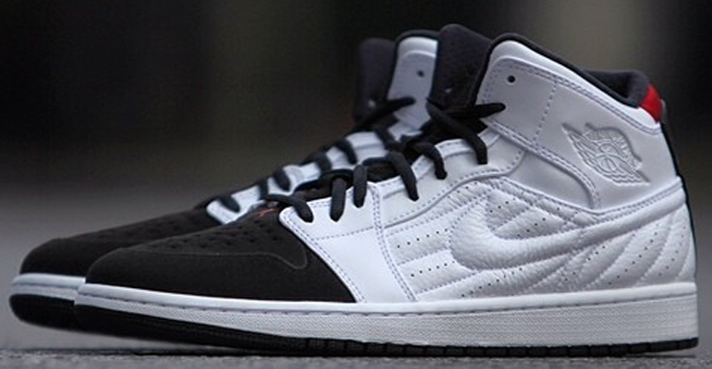 Air Jordan 1 Retro '99 White/Black-Gym Red