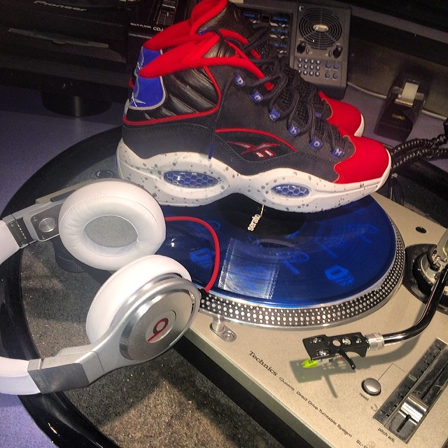 DJ Funk Flex Picks Up Reebok Question First Ballot