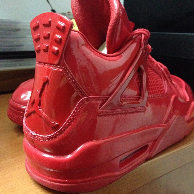Air Jordan 11Lab4 Red 719864-600 (4)