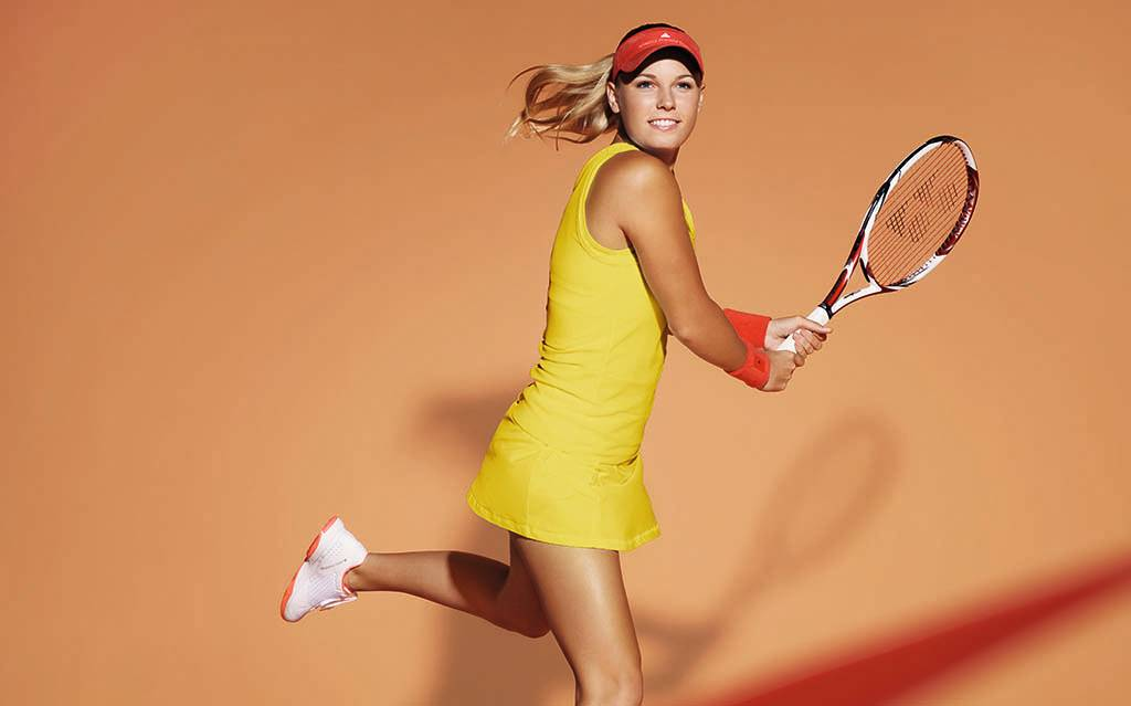 Caroline Wozniacki Outfitted in adidas by Stella McCartney for the 2012 French Open (1)