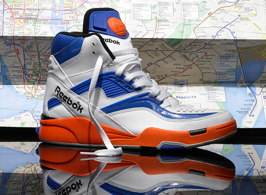 Reebok Pump Twilight Zone Knicks