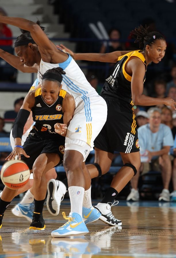 Sylvia Fowles wearing Nike Hyperfuse 2012 Pe