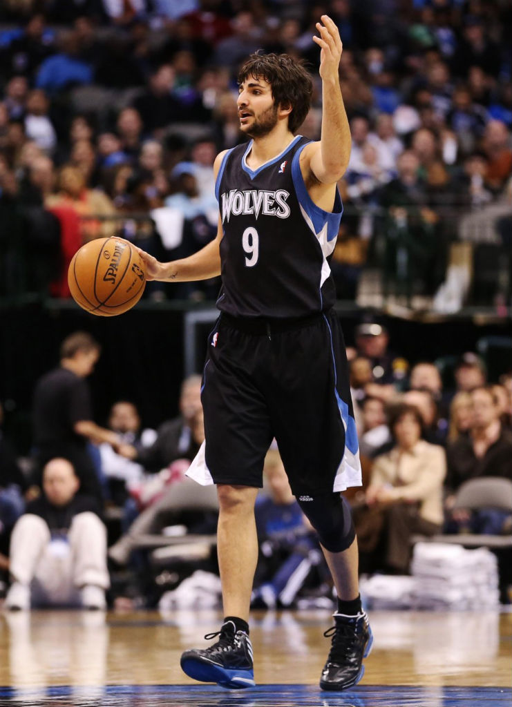 huge selection of 26d9e b2e29 Ricky Rubio wearing adidas adizero Crazy Light 2 PE
