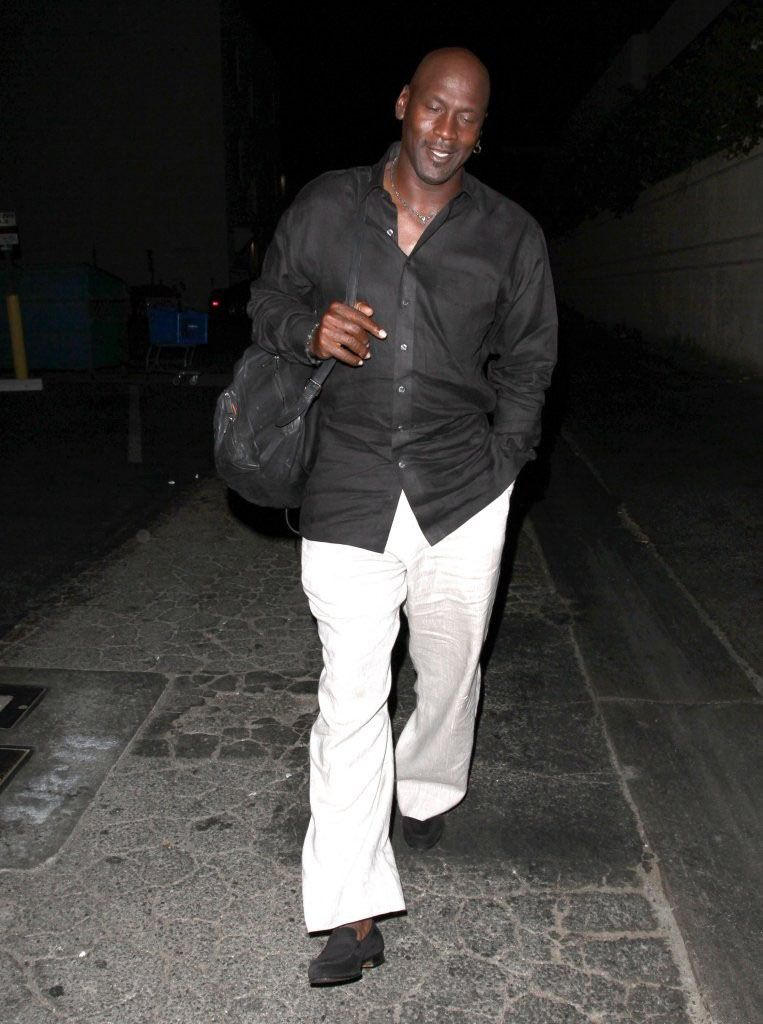 Michael Jordan Has Lunch with Kobe Bryant in Beverly Hills (2)