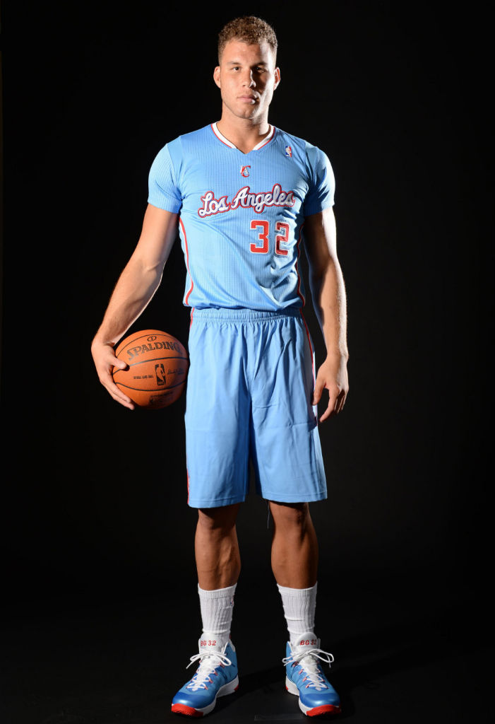 Blake Griffin wearing Jordan Super.Fly 2 Back in Blue