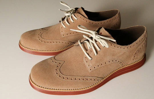 The Cole Haan LunarGrand Wingtip debuts this week at the brand's SoHo store  in New York.