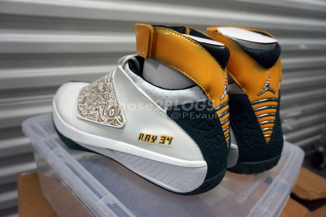 ... Air Jordan XX 20 Ray Allen Sonics PE ... 40f1cb5a5
