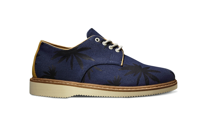 Vans Vault x Taka Hayashi TH Derby 2 LX in Peacoat Blue